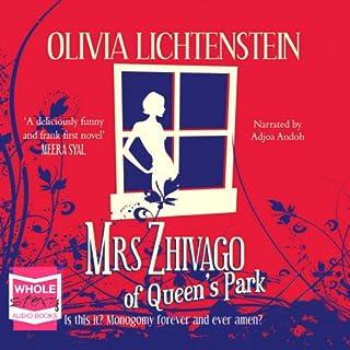 Mrs Zhivago of Queen's Park audiobook cover art