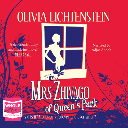 Mrs Zhivago of Queen's Park audiobook cover art