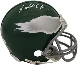Randall Cunningham Autographed Philadelphia Eagles Mini Helmet JSA