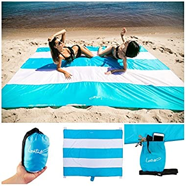 Beach blanket - beach mat - beach blanket sand proof - beach mat sand free - sand free beach blanket - beach blanket sand proof oversized - sandproof beach blanket - beach gear - beach supplies