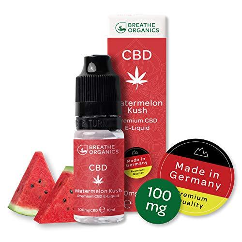 Sandía líquida Premium CBD de Breathe Organics | CBD Liquid 100 mg |