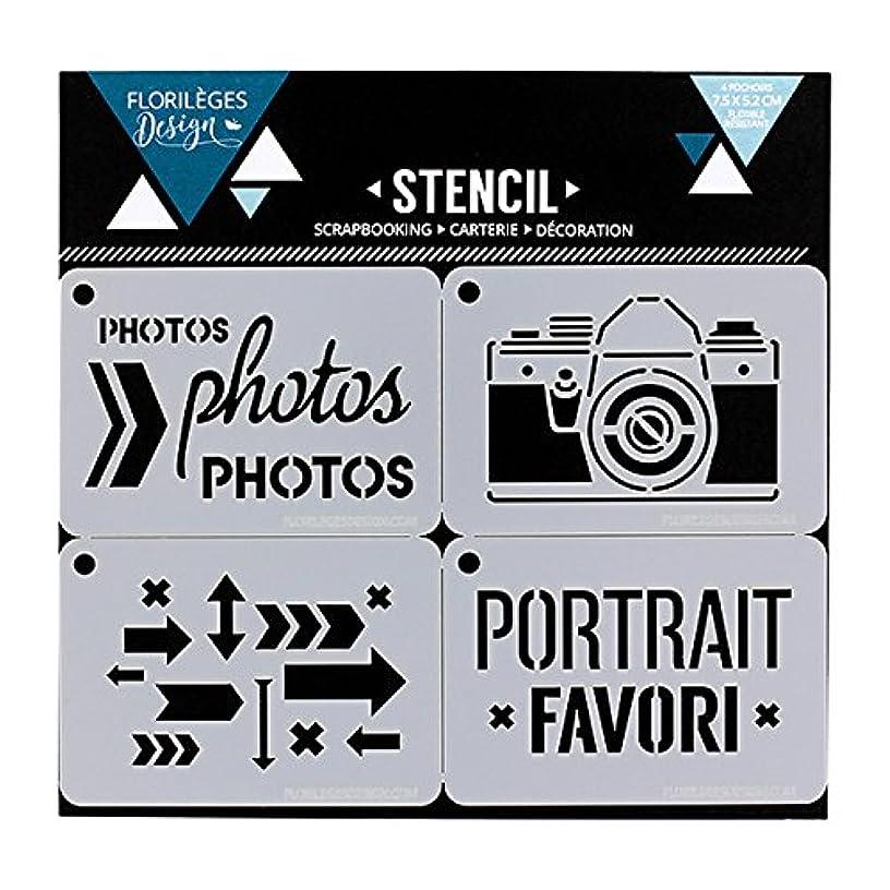 Florilèges Design fds11705?Favorite White Plastic Picture Frame 15?x 10?cm, 0, 1?cm