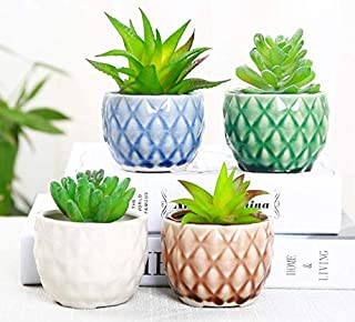 pineapple shaped plant pot