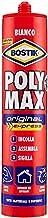BOSTIK Poly Max Original Express universele montagelijm en afdichtstof, supersnel en supersterk, 425 g cartridge wit