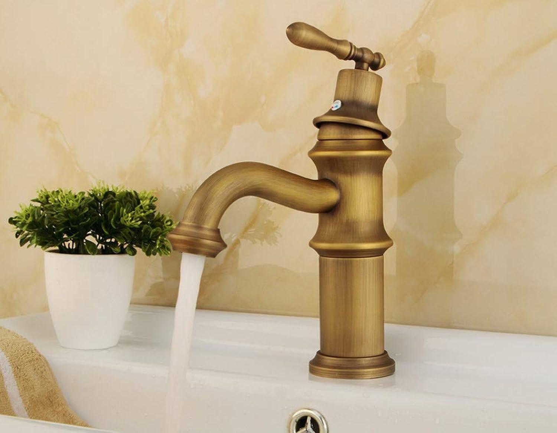 Basin Faucet Newly Faucet Copper Faucets Bath Bathroom Sink Faucet Brass Single Ceramic Handle Single Hole Deck Tap