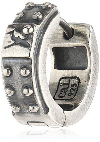 caï men Herren-Creolen 925 Sterling Silber