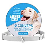 Bmrsi Flea and Tick Prevention Collar for Dogs & Cats - Natural Herbal Non-Toxic Adjustable Flеa Collar Waterproof Protection for Large Medium Small Pet Supplies Repels Flеas Licе Tiсks Mоsquitоes