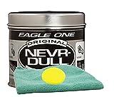 Eagle One Never-Dull Wadding Metal Polish (5 oz.) Bundle with Microfiber Cloth & Foam Pad (3 Items)