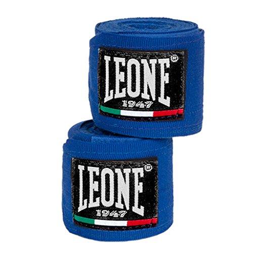 LEONE 1947 AB705 - Vendas de Boxeo, Color Azul, tamaño 2,