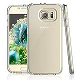 NEW'C Hülle für Samsung Galaxy S6 [Ultra transparent Silikon Gel TPU Soft] Cover Hülle Schutzhülle Kratzfeste mit Schock Absorption & Anti Scratch kompatibel Samsung Galaxy S6