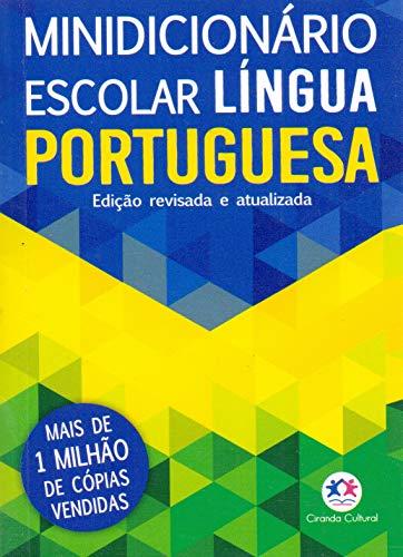Ciranda Cultural Minidicionário escolar Língua Portuguesa (papel off-set), Multicores