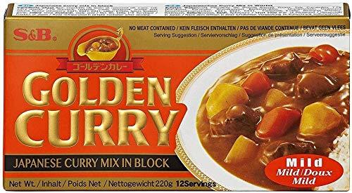 S&B golden Curry - Curry Japones en Pastilla, Poco Pican