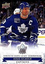 (CI) Doug Gilmour Hockey Card 2017-18 Toronto Maple Leafs Centennial (base) 108 Doug Gilmour