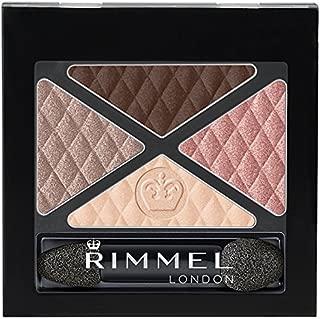 Rimmel Glam 'Eyes Quad Eye Shadow, Mayfair, 0.15 Fluid Ounce