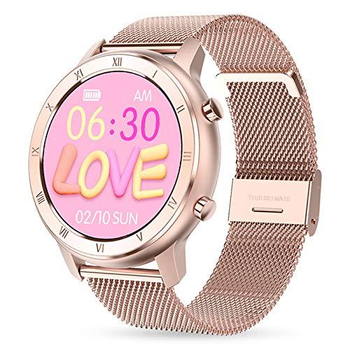 Gulu 2021 DT89 Smart Watch Sport Watch Women & Men ECG Ritmo Cardíaco Presión Arterial Smartwatch Mujeres Monitor Menstrual para Android iOS,B