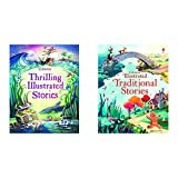 Illustrated Stories For Boys + Illustrated Traditional Stories (Set of 2 Books)