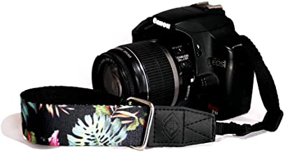 TETHER Hilo Hawaiian Design Wrist Camera Strap for DSLR or SLR Camera, DSLR Camera Strap. Camera Accessories. Canon Camera Strap. Nikon Camera Strap (The Hilo)