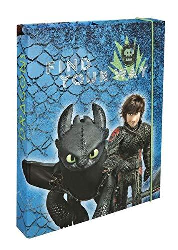 Undercover Heftbox A4 Dragon 4cm Rückenbreite