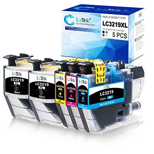 5 LxTek Ersatz Kompatibel für Brother LC3219XL LC3219 LC3217 Druckerpatronen für Brother MFC-J5330DW MFC-J5335DW MFC-J5730DW MFC-J5930DW MFC-J6530DW MFC-J6930DW MFC-J6935DW
