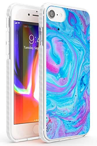 Purple Haze baño Bomba Impact Funda para iPhone 6 TPU Protector Ligero Phone Protectora con Moda Patrones Fizzies Lujoso Sueño