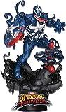 Beast Kingdom Maximum Venom: Captain America DS-065 D-Stage Statue, Multicolor
