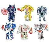 Transformers Mega-Set 6 último Caballero - 1 Paso Turbo Changer