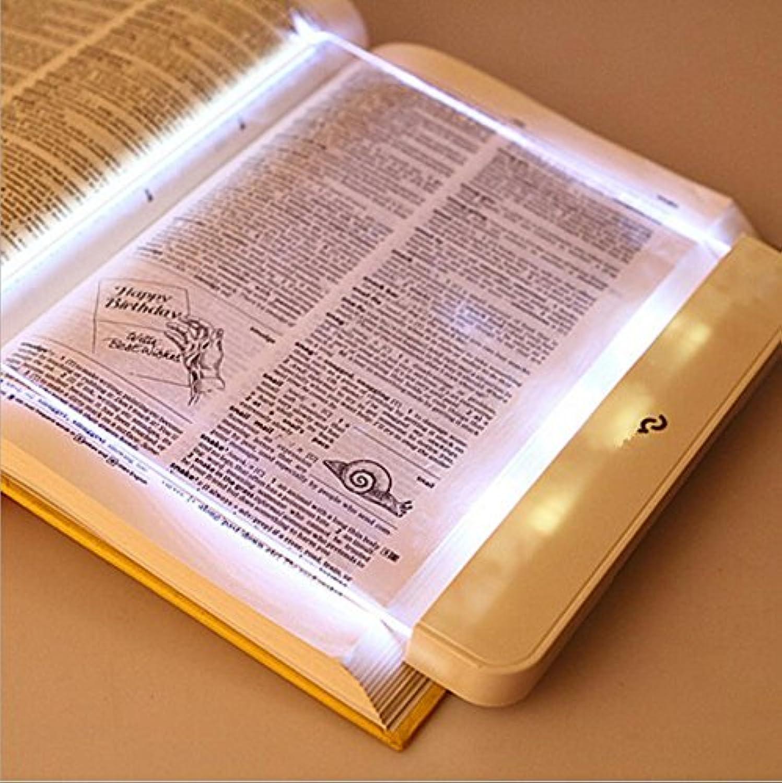 ZHIYUAN LED Flat Reading Lamp Eye Reading Lamp Night Student Night Light Reading Night Reading Artifact , white