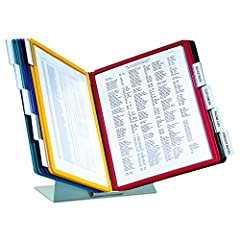 FIND INFORMATION FAST: provides easy access to information you need every day - 10 sleeves display up to 20 letter-size sheets with adjustable index tabs quickly direct you to frequently used information SAVING YOU TIME AND MONEY EASY LOAD SLEEVES in...