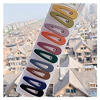 ヘアピン 10ピース/セットヘアクリップの新しいファッション ヘアアクセサリー (Color : 3)