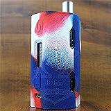 ModShield for Kangertech Cupti 2 80W & 100W Silicone Case ByJojo Kanger Cupti-2 Skin Cover Sleeve Shield Wrap (Red/White/Blue)