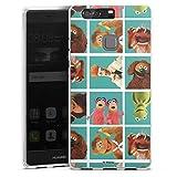 DeinDesign Coque en Silicone Compatible avec Huawei P9 Plus Étui Silicone Coque Souple Muppets...