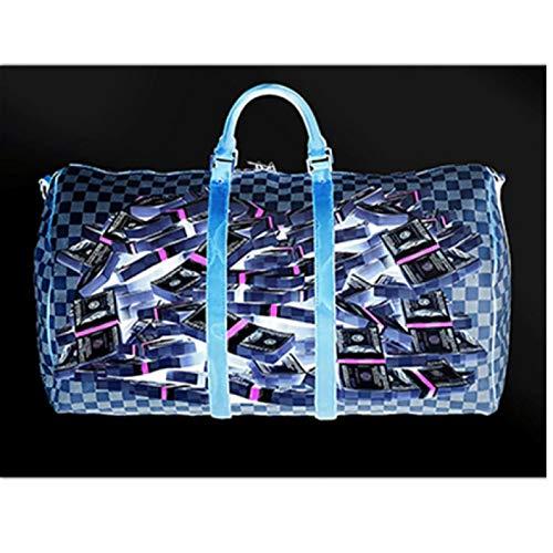 FGVB Bolso Azul Cuadro de Arte de Pared Lienzo Pintura Carteles e Impresiones Sala de Estar decoración del hogar ilustraciones-60x80 CM sin Marco