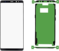 Original Galaxy Note 9 N960 Series 6.4 inch Front Outer Lens Glass Screen Replacement Repair and Pre-Cut Adhesive Glue Tape Sticker(Compatible All Models)