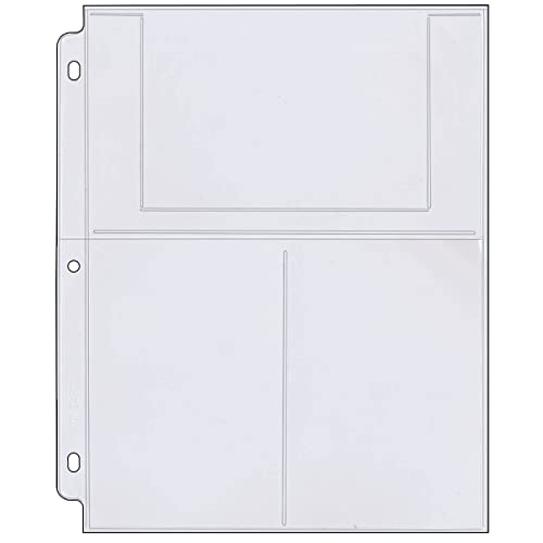 Photo Sleeves For 3 Ring Binder: Amazon.com