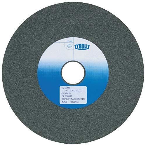 Tyrolit TYR-2529 1 GERADE SCHLEIFSCHEIBE 1 125x20x32 C80J5V15