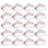 20 Piezas Tarjetas De Lugar Banquetes Mesa Place Cards Pequeñas Tarjetas Tienda Lugar Bodas Colocar...