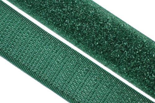 dalipo 17003 - Klettband zum annähen, 20mm, dunkelgrün