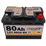 CARPARTS PLUS L380CARPARTS Batteria 80ah 680A 12V Polo DX