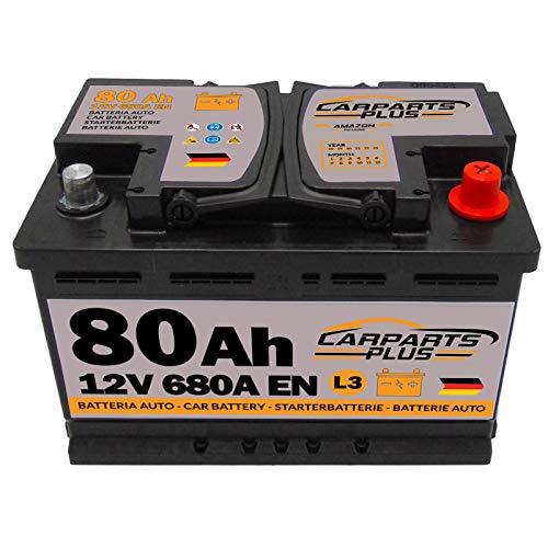 CarPlus L380CARPARTS Autobatterie, 80 Ah 680A