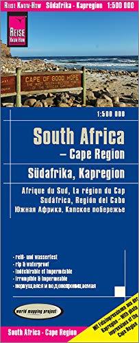 Reise Know-How Landkarte Südafrika Kapregion / South Africa, Cape Region (1:500.000): world mapping project