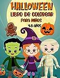 Halloween Libro de Colorear Para Niños 4-8 años: Libro para colorear en Halloween | 30 dibujos...