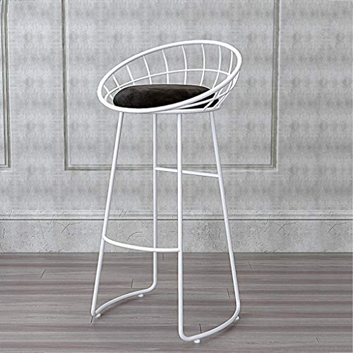 ASIER kruk tafel met stoelen kruk tafel zitkussen Nordic smeedijzeren barkruk eenvoudige kruk Amerikaanse barkruk stoel barkruk barkruk stoel - 3 kleuren naar keuze