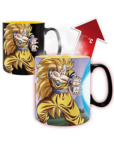 ABYstyle - Dragon Ball - Mug Heat Change - 460 ML - Kamehameha