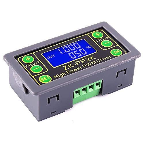 ZHITING Generador de señal PWM, DC 3.3V-30V Ciclo de Trabajo de frecuencia de Pulso Módulo de Onda Cuadrada Rectangular Ajustable para Ajuste de Brillo de la lámpara de Velocidad del Motor