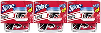 6-Count Ziploc Food Storage Meal Prep Containers