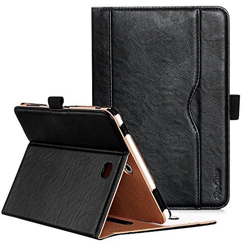 ProCase Custodia per Samsung Galaxy Tab S2 8.0 - Custodia Stand Folio per 2015 Galaxy Tab S2 Tablet (8,0 pollici, SM-T710 T715 T713), con Angoli di Visuale Multipli, Tasca per Schede Documenti -Nero