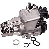 PCV Valve Oil Trap Oil Filter Housing for Volvo C30 C70 S40 V50 V60 S60 for BMW 128i 328i 530i 30788494