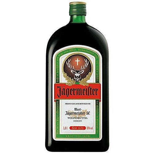 1 leere Jägermeister Flasche zu Dekorationszwecken