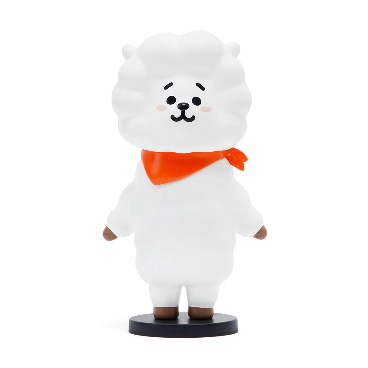 Grey Van Character Action Figure Toy Collectible Doll 4 Inch BT21 Official Merchandise by Line Friends