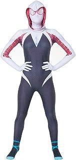 Toddler Kids Spider Verse Miles Morales Gwen Jumpsuit Bodysuit Halloween Cosplay Costumes